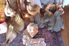 Assortiment de sculptures